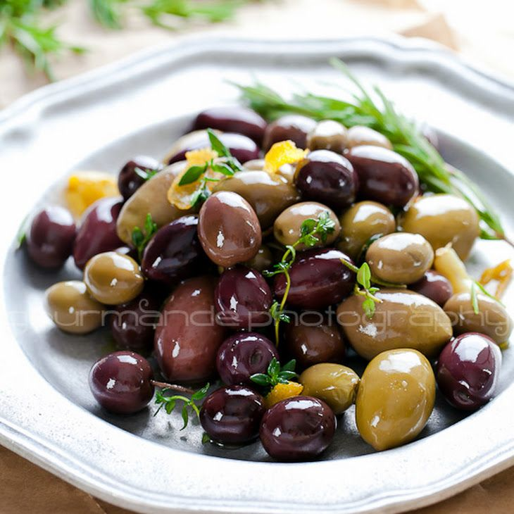 Marinated Olives With Herbs And Star Anise Recipe — Dishmaps
