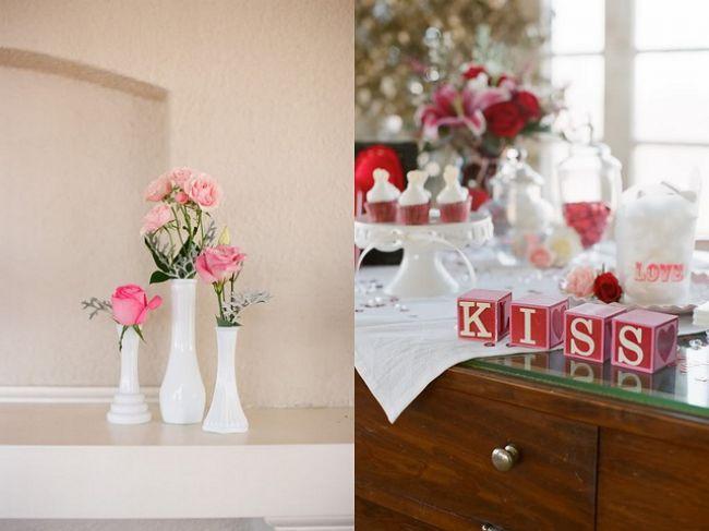 Detalhes cor de rosa na mesa do seu casamento Image: 0