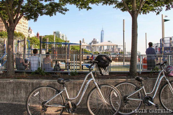Ruta en bicicleta por el río Hudson y Battery Park, en Nueva York. Un recorrido sencillo para disfrutar de otra faceta de la ciudad.