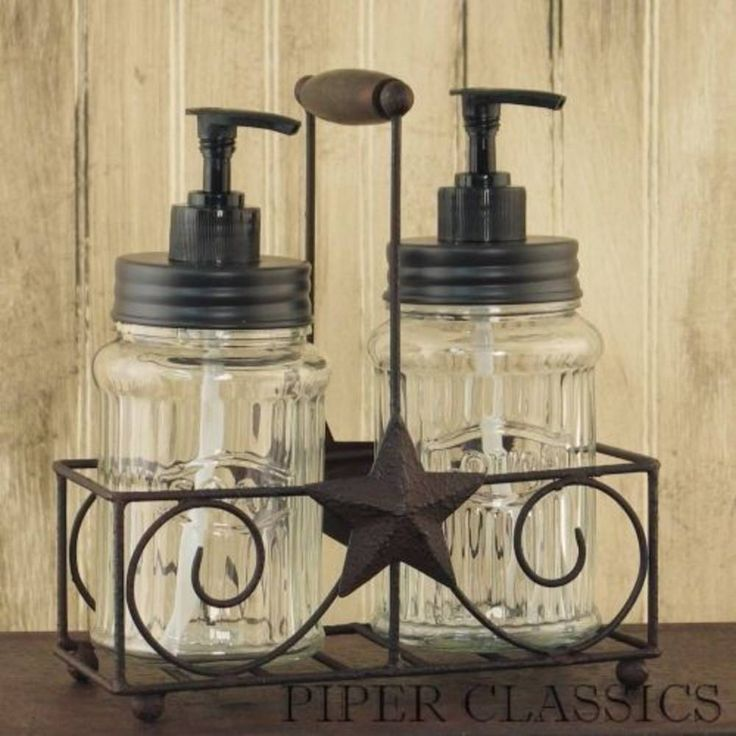 Images Photos Our Dispenser Caddy w Stars will look great in any primitive or country home