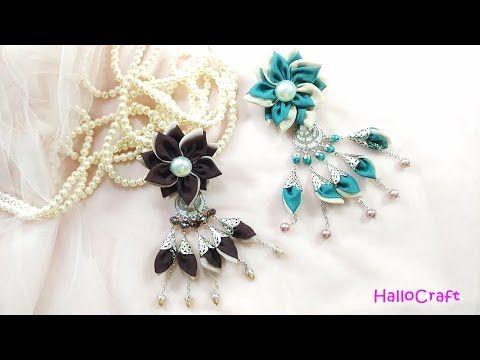 Cara Membuat Bross Jumbrai | How to make Hijab Pins - YouTube