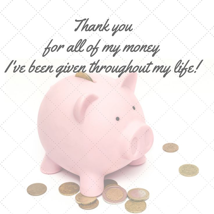 5 / 28 days Gratitude Challenge: Magical Money Thank you for all of the Money ...