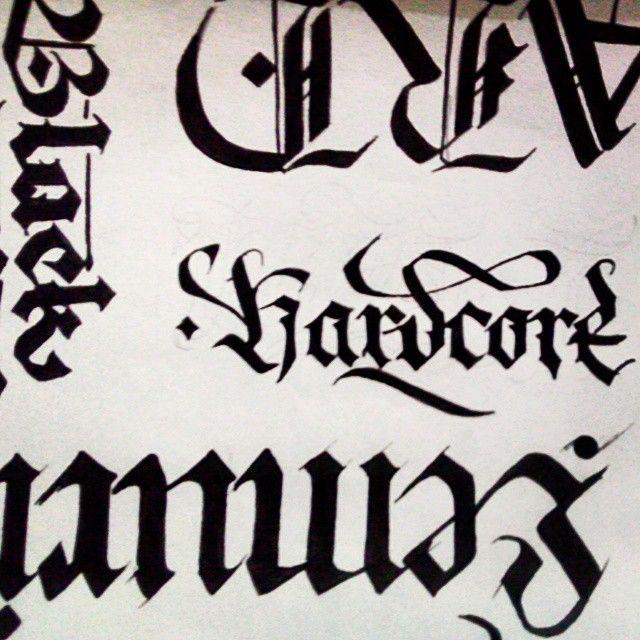#calligraphy #artwork #arte #art #ink #hardcore #font #graphic #black #lemuria