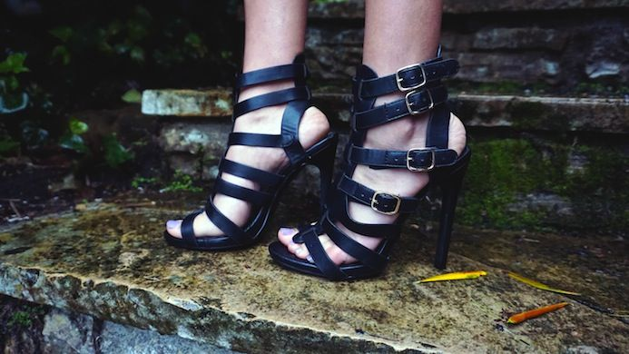 Gladiator Heels #Shoes