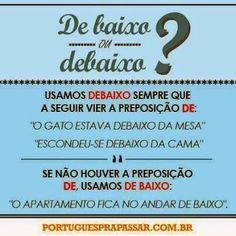 Nosso Português é Nossa Cultura. - Dicas de português - Comunidade - Google+