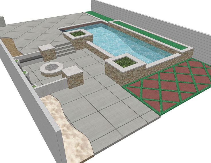 69 best swimming pool designs images on pinterest decks for Pool design sketchup