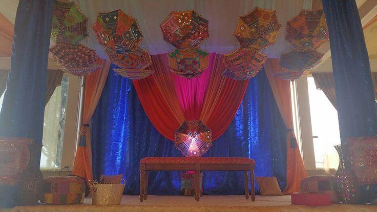 R&R Event Rentals - Bay Area Indian Wedding Decorations | Indian Umbrella Decorations
