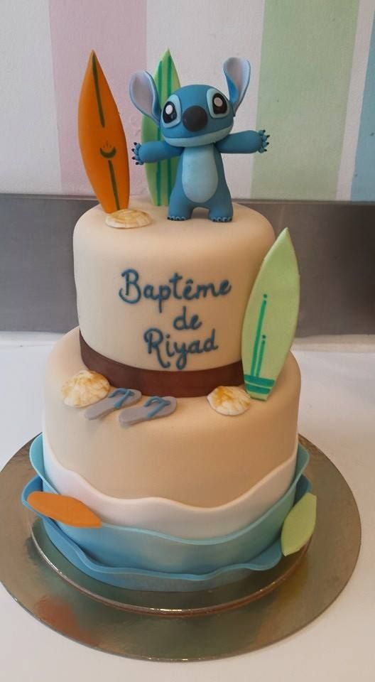 Wonderful Lilo and Stitch Cake Design - Disney -  Soutenez-nous dans le développement en franchise de nos salons de thé vintages ! Support us to develop  our vintage tearooms !  Facebook : https://www.facebook.com/MissAudreysCupcakes/ Ulule : http://fr.ulule.com/audreys-cupcakes/  Merci :D ! Thank you :D !