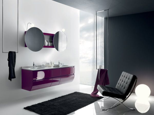 150 best arredo bagno design images on pinterest stiles modern and bathtubs for Arredo bagno design lusso