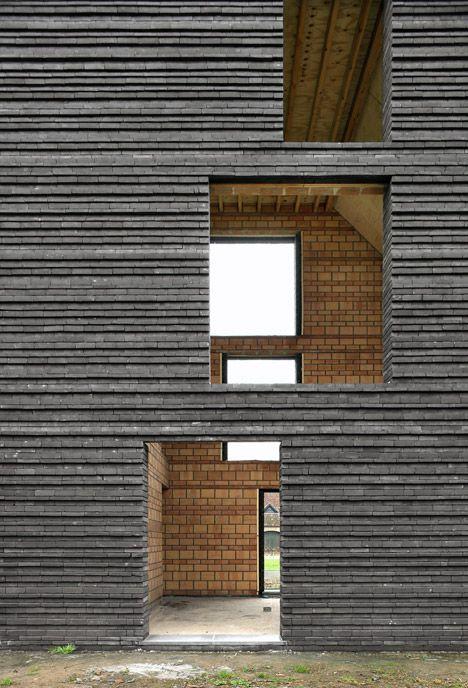 how to build a brick facade