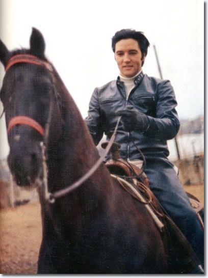 Elvis loved to ride