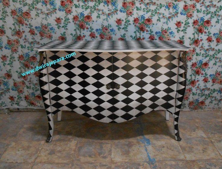 Muebles de caoba sala de Bombay bufé 2 de la puerta del gabinete a ...