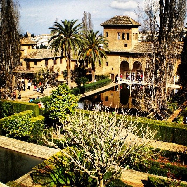 Alhambra, Spain. No place can compare. Go magnums!