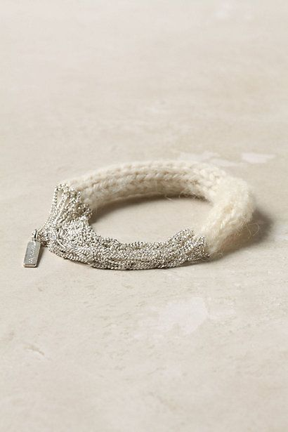 knit bracelet - anthropologie: Brass Chain, Chain Bracelets, Purl, Silver Bracelets, Anthropologie Com, Accessories, Jewelry Object Accessory