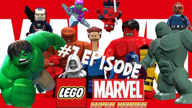 Lego Marvel 7 - New York Part 3 - Bifrosty Reception Game Full Movie