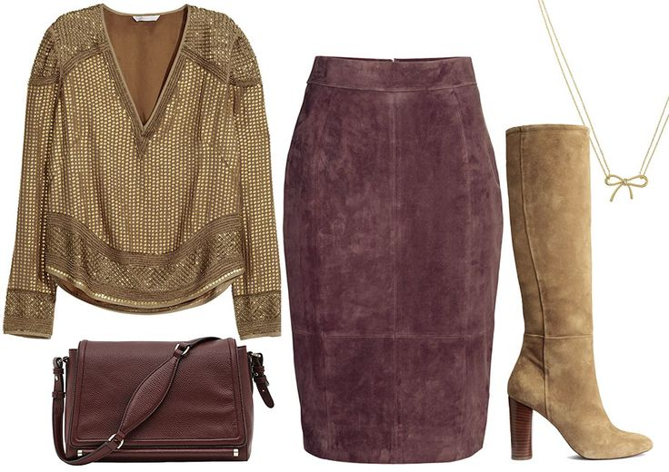 GOLDEN – SHOPPING BOARD Perfect for Apple, Pear and Strawberry body shapes. SHOP IT: www.thestylistsstamp.com/golden-shopping-board/ * #trend #fashion #eshop #shopping #image #beads #sequins #gold #handm #vneck #blouse #pencil #skirt #suede #kneehigh #boots #reiss #handbag #katespade #instyle #british #style #necklace #burgundy #metallic #johnlewis #thestylistsstamp