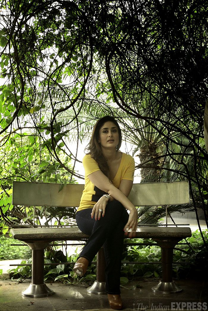 Kareena Kapoor, who plays the role of a television journalist in the movie, says she appreciates journalists even more now. (IE Photo: Praveen Khanna)