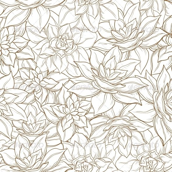 Seamless Floral Background  #GraphicRiver         Seamless floral background, narcissus flowers contour on white   Vector EPS 8 plus AI CS 5 plus high-quality Jpeg. Editable vector file, containing only vector shapes. No gradients. No transparencies.     Created: 11February13 GraphicsFilesIncluded: JPGImage #VectorEPS #AIIllustrator Layered: No MinimumAdobeCSVersion: CS5 Tags: amaryllis #background #bloom #blooming #bouquet #brown #celebration #contour #cutout #fabric #flora #floral #flower…
