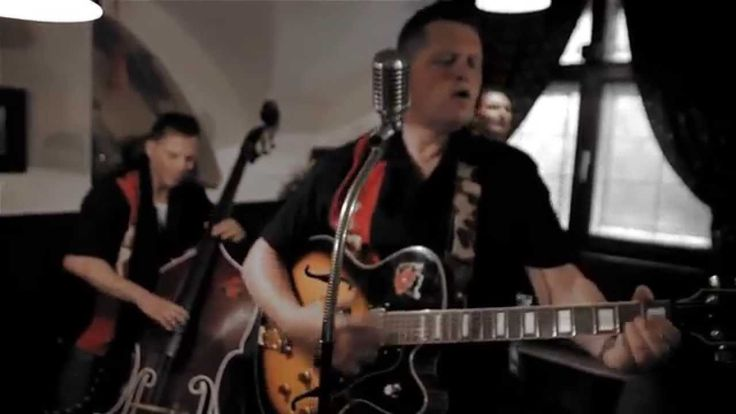 """Rockabilly Band """"The Rockabulls"""" playing their title song """"My Old Car"""""""