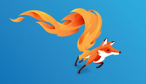 Firefox logo comes to life