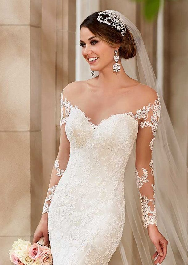 Detachable Under Or Over Bodice Accessory Lace Liquéd On The Sleeves Only Ons From Cuff Up Arm Would Be A Beautiful Ad