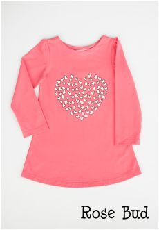 Peekaboo Beans - Queen of Hearts Tunic | playwear for kids on the grow! | Shop at www.peekaboobeans.com #pbhugsandkisses
