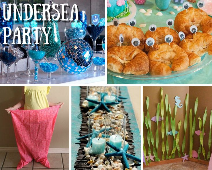 Beach Theme Birthday Party Ideas