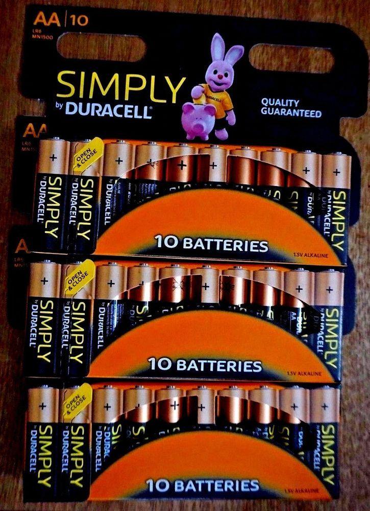 Best Aa Batteries 2021 30 Duracell AA Batteries. Alkaline Battery. Brand New Bateries