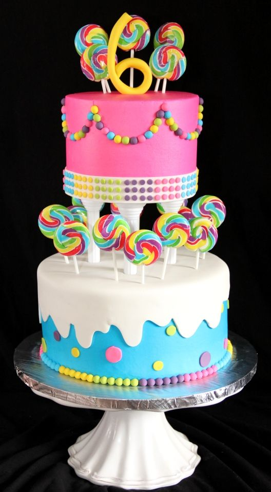 Taylor's 6th - Given a picture of another cake (designer unknown) with  a couple changes.
