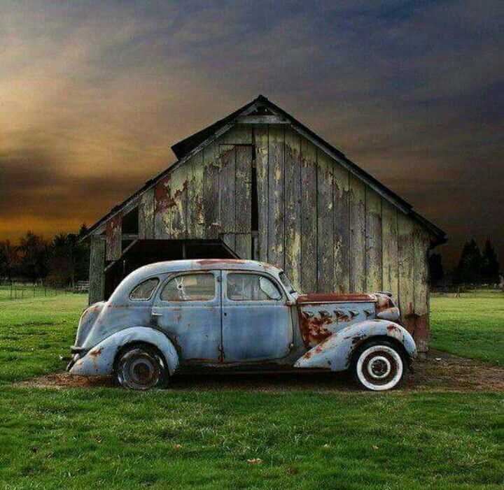 249 best RUSTY GOLD images on Pinterest | Vintage cars, Abandoned ...