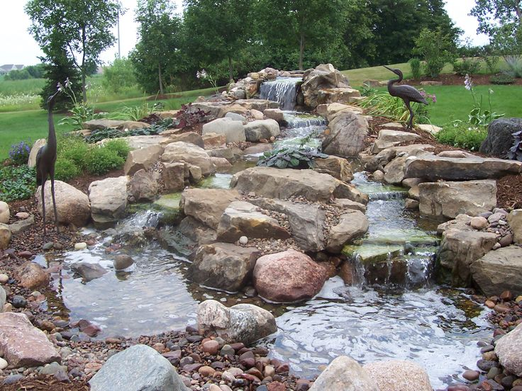 70 best waterfalls and ponds images on pinterest water for Build your own waterfall pond