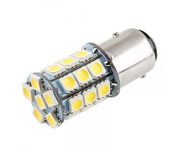 1157 Led Bulb Dual Function 27 Smd Led Tower Bay15d Bulb Led Replacement Bulbs Marine Led Lights Led Bulb
