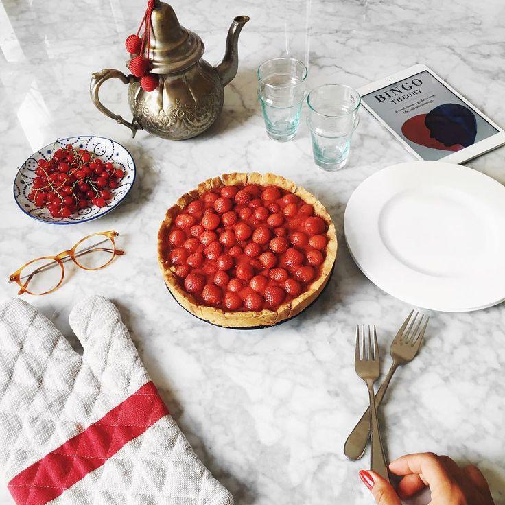Mimi Ikonn Food Stawberry Pie Helathy Clean Sugar Free Dairy Free Gluten Free…