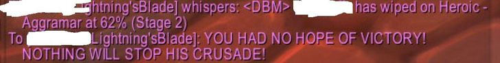 When the guy that kicks you from the raid wipes on his next attempt. #worldofwarcraft #blizzard #Hearthstone #wow #Warcraft #BlizzardCS #gaming