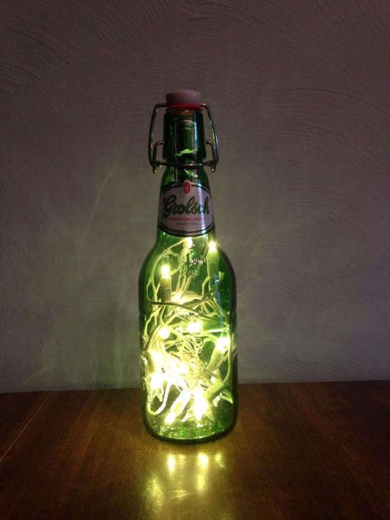 Grolsch Beer Bottle Lamp