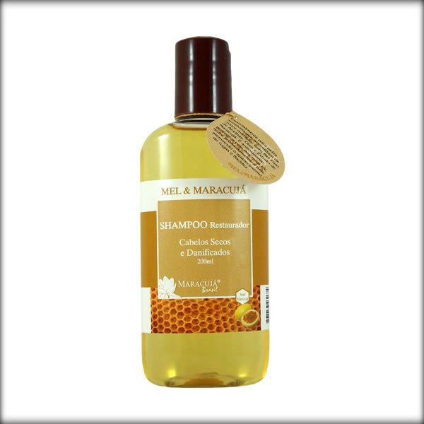 Shampoo Restaurador Mel e Maracujá  -