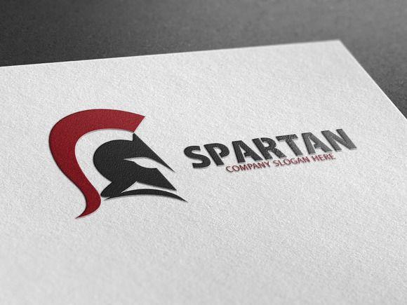 Spartan Logo by Creative Dezing on @creativemarket