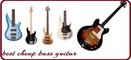 Find different best cheap bass guitar at online.