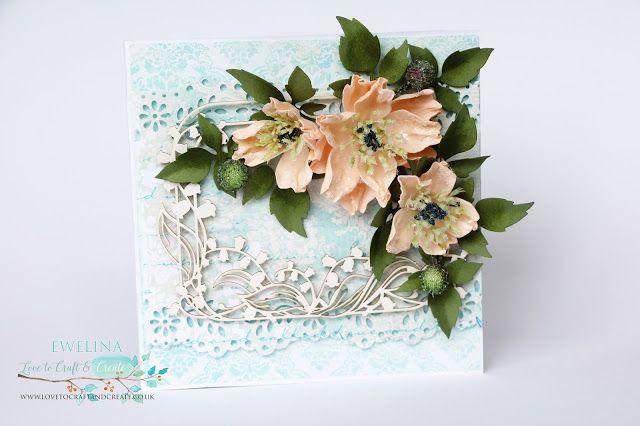 Love To Craft & Create: Flower Card