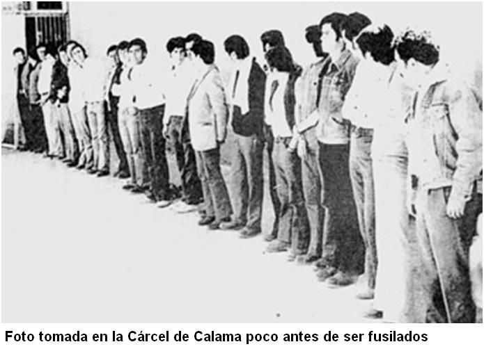 Chile: Minutos antes de ser fusilados, por el régimen de Pinochet | Análisis Libre Internacional