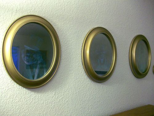 Annie, How did you make those hitch hiking ghost mirrors?? They're amazing.