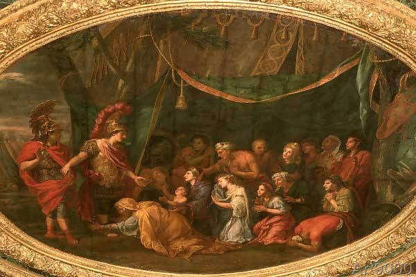 Charles Le Brun - Alexander der Große und die Familie das Darius