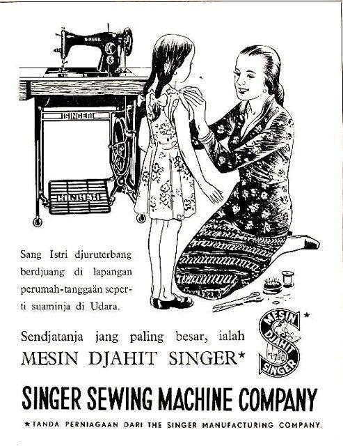 Mesin Djahit Singer