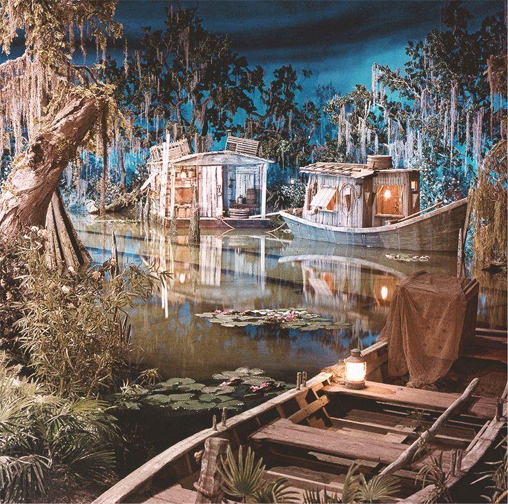 Pirates of the Caribbean bayou, Disneyland