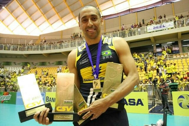 Sergio Santos...one of the greatest volleyball players