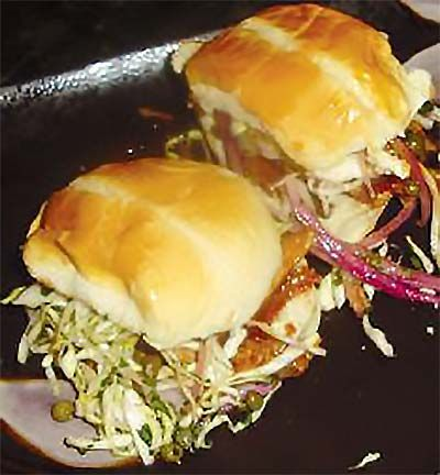 65 best tasty lionfish recipes images on pinterest fancy group grilled blackened lionfish sandwich with creamy caper slaw and cumin lime crme fraiche anna maria islandpalm beachlocal seafoodfood truckrecipe forumfinder Images