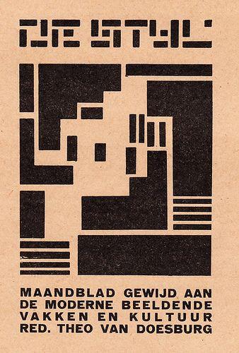 De Stijl - Theo Van Doesburg