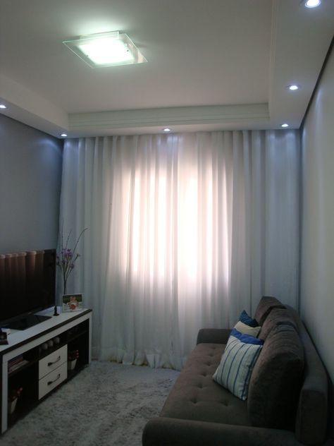 17 melhores ideias sobre cortinas para sala pequena no pinterest ...