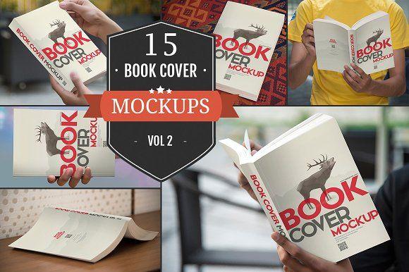 Paperback Book Cover Mockups Vol. 2 by ZippyPixels on @creativemarket