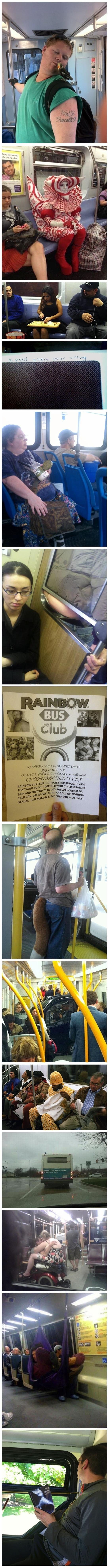 I'm glad I saw this before using public transportation..... Hahahahaha that last one bahahahaha